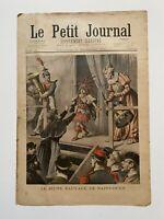 Supplément Illustré Le Petit Journal 27/11/1898, N°419, JEUNE SAUVAGE SAINT OUEN