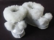 AUTHENTIC BRAND NEW HAND MADE SOFT FRENCH LAMB BABY / TODDLER BOOTIES / BOOT