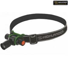 Highlander Foco 3w Linterna Frontal Led Centrándose Zoom Head Torh Luz Ejército