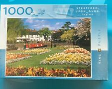 King - Stratford-Upon-Avon 1,000 piece Jigsaw Puzzle