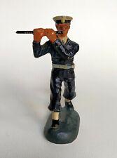 DURSO fanfare militaire Flûte figurine en composition, chialu lineol elastolin