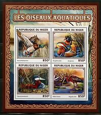 NIGER 2016 AQUATIC BIRDS  SOUVENIR SHEET MINT NH