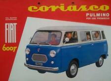 Coriasco Fiat 600 T pulmino depliant brochure originale