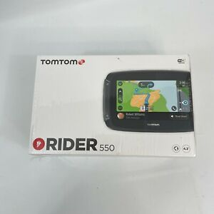 TomTom Rider 550 Motorcycle GPS Navigation Device 4.3 Inch - Used