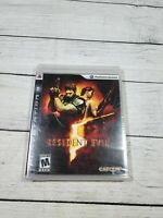Resident Evil 5 Sony PlayStation 3 PS3 Sealed Brand New