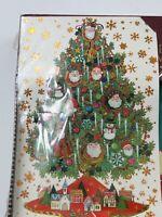 Vintage Plus Mark American Greetings Santa Christmas Tree Cards & Foil Seals 18