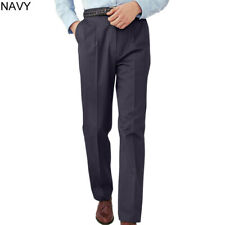 Navy 34-30 Ed Garments MenS 2568 Two Cargo Pockets Utility Pants