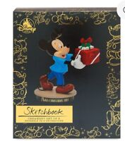 Mickey Mouse Memories Through Years Pluto's Christmas Tree Sketchbook Ornament