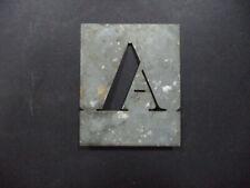 Antique Alphabet Sterncil + 5 incomplete sets