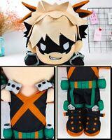 """My Hero Academia Boku no hero Toy Academia Bakugou Katsuk Plush Toy Doll 16"""""""