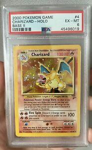 Charizard PSA 6 - BGS - Regrade? - Base Set 2 Holo - Pokémon WOTC