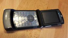 Motorola RAZR V3i > Grau + foliert + Klapphandy + ohne Simlock