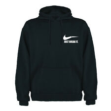 Sudadera Capucha Just Break It Nike Parodia Hombre Gym Sport Running MMA