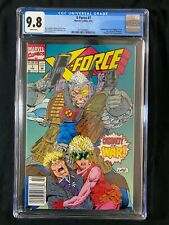 X-Force #7 CGC 9.8 (1992) - RARE Newsstand - Rob Liefeld cover