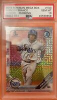 2019 Bowman Chrome Mega Box MOJO #100 Wander Franco RC ROOKIE PSA 10 GEM MINT