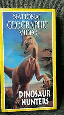New National Geographic VHS Video - Dinosaur Hunters Tape 60 Minutes Sealed