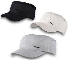 Classic Women Ladies Beach Sun Summer Hat MILITARY Style Baseball Cap Cotton