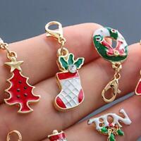 19pcs Christmas Theme Keyring keychain Xmas Key Chain