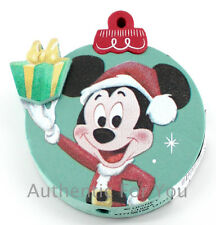 Disney Parks Santa Mickey Mouse Christmas Ornament Present Car Antenna Topper