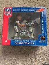 New York Jets Pennington/Martin BOBBLEMATES NFL FOOTBALL BOBBLE HEAD.