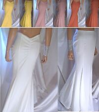 Women's Mermaid Maxi Skirt Long Sexy Trumpet Wedding Dresses Prom Evening Formal