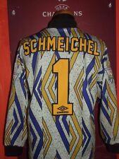 SCHMEICHEL MANCHESTER UNITED 1993/94 MAGLIA SHIRT CALCIO FOOTBALL MAILLOT JERSEY