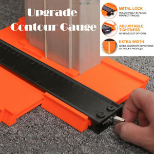 10'' With Metal Locks Contour Duplication Gauge Omnigauge Standard Shape Tool