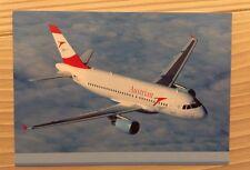 Austrian Airlines AUA Airbus A 319 A319 JET LAUDA Postcard Postkarte TOP!