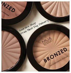 MUA Makeup Bronzed Matte Bronzing Solar Pressed Powder Contour Buildable Sunkiss
