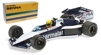 Minichamps Brabham BT52B Test Car Paul Ricard 1983 - Ayrton Senna 1/18 Scale