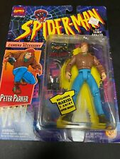 Spiderman Peter Parker with Camera Figure Marvel Toy Biz 1994 Brand New!