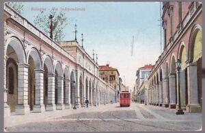 Italy BOLOGNA Via Indipendenza Tram used 1912 PPC