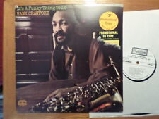 PROMO COTILLION DG LP RECORD STEREO /HANK CRAWFORD/IT'S A FUNKY THING TO DO/EX+