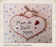 Handmade Heart Decorative Door Signs/Plaques