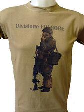 Maglietta Militare Divisione Paracadutisti Folgore 1942 Seconda Guerra Mondiale