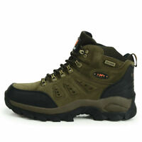 Mens casual walking hiking trail waterproof lightweight camping work boots shoes