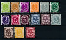[9022] Germany 1951-52 good lot very fine MNH stamps value $2200