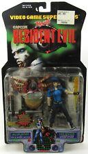 Sealed Toy Biz Video Game Supestars Resident Evil Jill Valentine And Web Spinner
