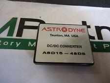 ASD15-48D5 Astrodyne Isolated & Regulated Modular DC/DC Converter Brand New!