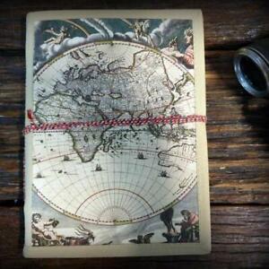Globe Handmade Travel Journal