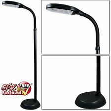 Floor Lamp Light Shade Reading Adjustable Home Office Decor Standing Base 60""