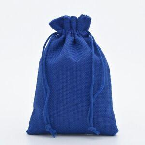 Fashion Drawstring Burlap Bags Wedding Party Christmas Gift Jewelry Pouches B