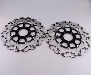 Front Brake Discs Rotors For Suzuki GSXR600/750 97-03 GSXR1000 01-02 1300 99-07