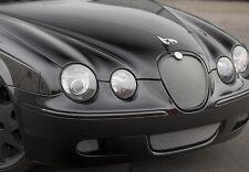 Jaguar S-Type R 2005 2006 2007 Bottom Middle Bumper Mesh Grille Stainless 3 pcs