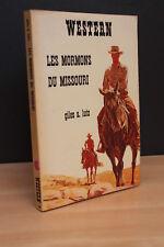 WESTERN N°166 LES MORMONS DU MISSOURI de G.A. Lutz (Masque Champs Elysées) 1976