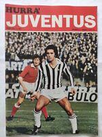 HURRA' JUVENTUS N. 3 MARZO 1975 CLAUDIO GENTILE GAETANO SCIREA JOSE ALTAFINI