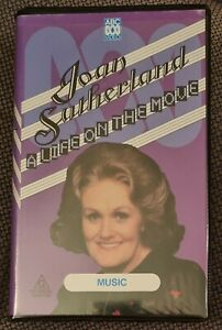 JOAN SUTHERLAND A Life On The Move ABC Video Music Documentary VHS
