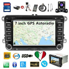 "7"" Autoradio Stereo Per VW POLO golf 5/6 SEAT SKODA Touran Bluetooth GPS DVD MP5"