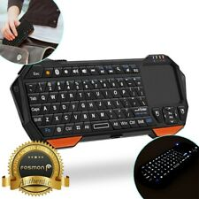 30ft Range Mini Wireless Bluetooth Keyboard w/ Touch Pad for Laptop PC Mac