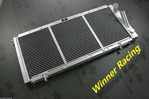 ALUMINUM RADIATOR RENAULT R 21 2.0L TURBO M/T 1989-1995 32MM